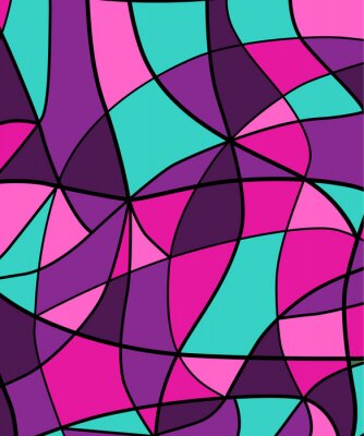 Adesivo Abstract background vetrate