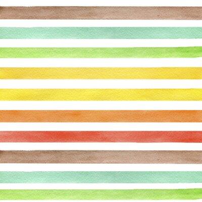 Adesivo Abstract grunge seamless. Strisce su sfondo bianco.