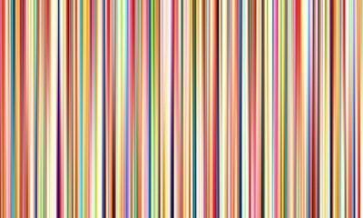 Adesivo Abstract linee offuscata multicolore su vasta sfondo