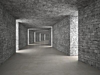 Adesivo abstract tunnel