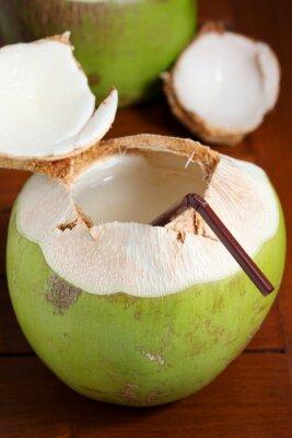 Adesivo Acqua di cocco verde