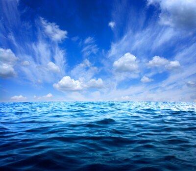 Adesivo acqua di mare blu