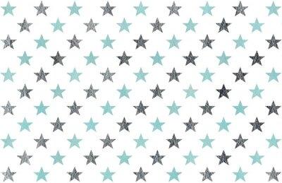 Adesivo Acquerello stelle modello.