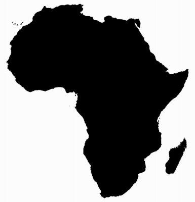 Adesivo Africa Map