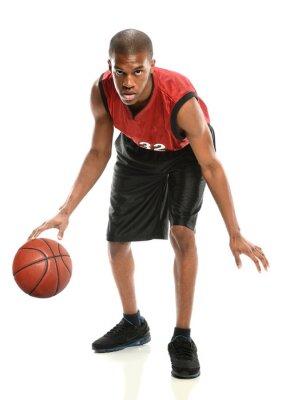 Adesivo African Giocatore di basket americano