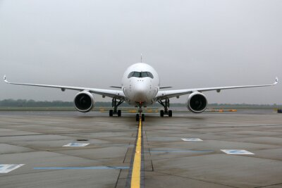 Adesivo Airbus A350 frontale