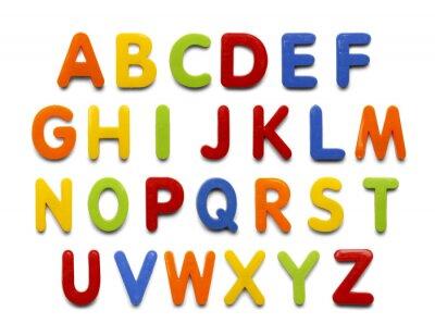 Adesivo Alfabeto Magnetico