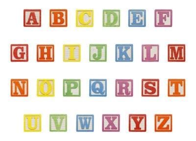 Adesivo Alphabet Blocks Top