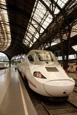 Adesivo Alvia train station in France, Barcelona, Spain