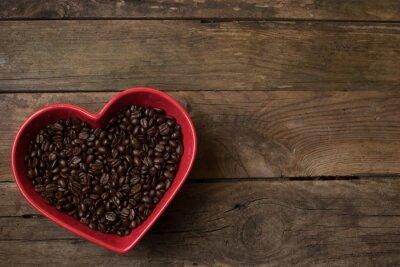 Adesivo amore per il caffè,