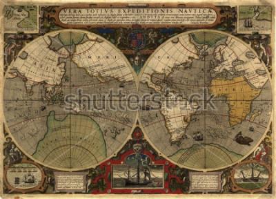 Adesivo Ancient map