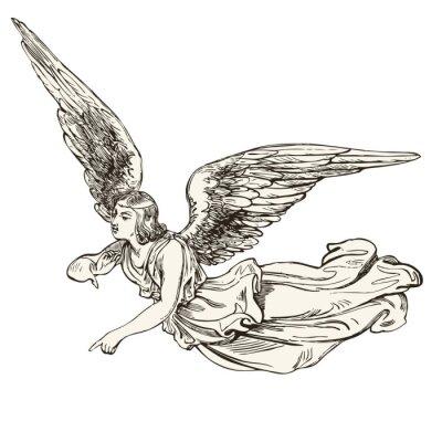 Adesivo angelo
