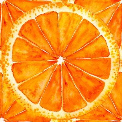 Adesivo arancia o pompelmo a fette