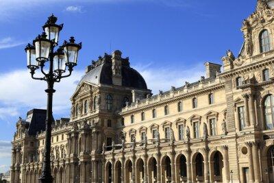 Adesivo Architettura rinascimentale al Museo del Louvre, Parigi