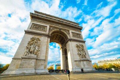 Adesivo Arco di Trionfo a Parigi
