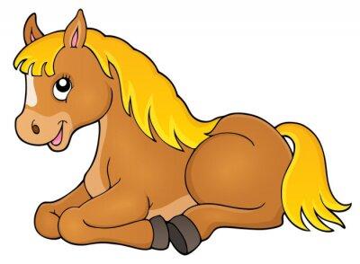 Adesivo argomento immagine Cavallo 1