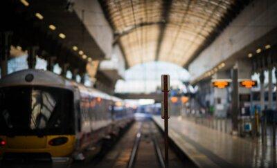 Adesivo Aspettando il treno