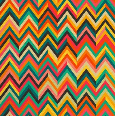 Adesivo Astratto colore vintage retro seamless