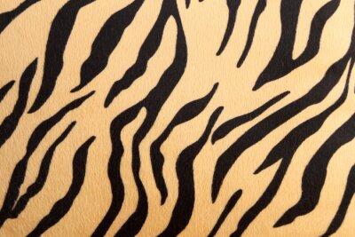Adesivo astratto con Tigre del Bengala trama