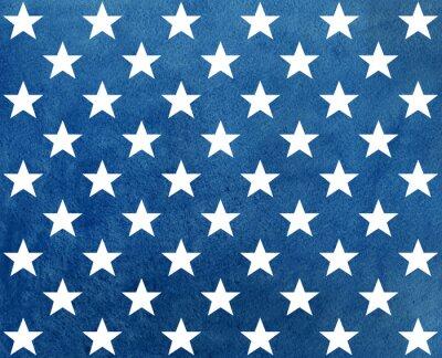 Adesivo Astratto modello blu acquerello scuro con stelle bianche.