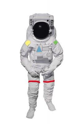 Adesivo Astronauta isolato su sfondo bianco