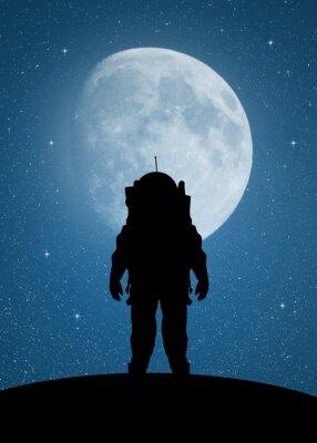 Adesivo Astronauta su Marte