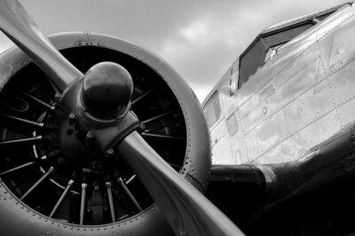 Adesivo Avion un hélice