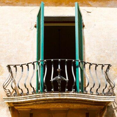 Adesivo Balcone italiano