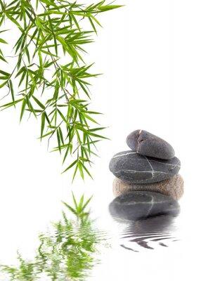 Adesivo Bambou et galets superposés