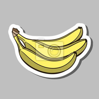 Adesivo Banana Sticker