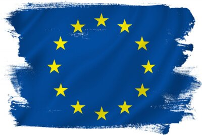Adesivo Bandiera UE