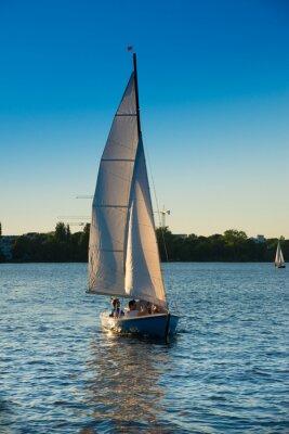Adesivo Barca a vela, Blue Hour