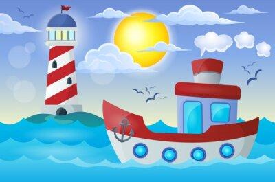 Adesivo Barca immagine Tema 2