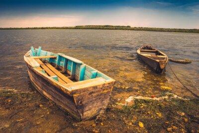 Adesivo Barche su un river_2