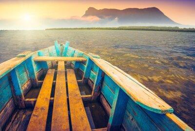 Adesivo Barche su un river_5