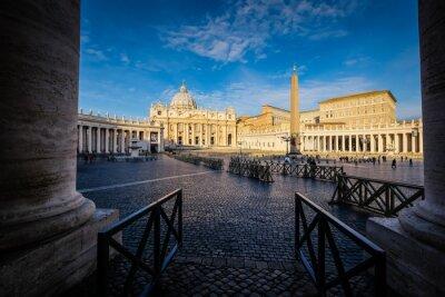 Adesivo Basilica di San Pietro a Roma, Italia