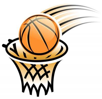 Adesivo basket simbolo cerchio