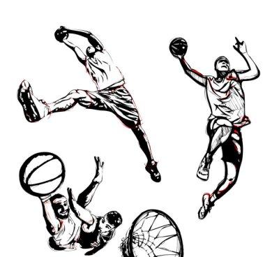 Adesivo basket trio