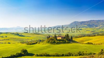 Adesivo Beautiful landscape in Tuscany, Italy