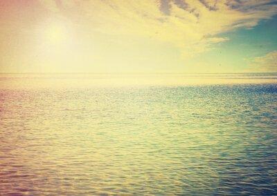 Adesivo Bel cielo e mare blu