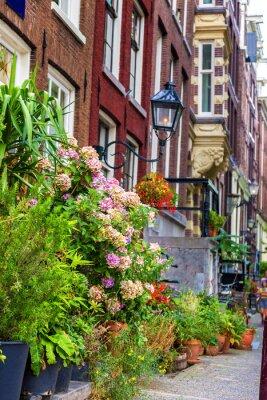 Adesivo Bella casa in Amsterdam