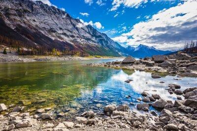 Adesivo Beneaped Lago di medicina in autunno