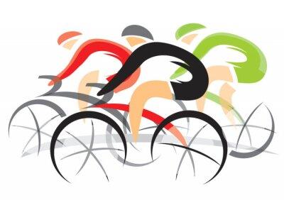 Adesivo Bicycle Race