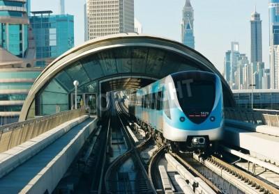 Adesivo binari della metropolitana in Emirati Arabi Uniti