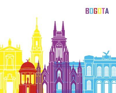 Adesivo Bogota orizzonte pop