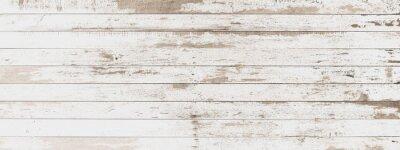 Adesivo bordo di legno oggetti di sfondo astratto bianco vecchio stile per mobili. pannelli di legno viene quindi utilizzato orizzontale