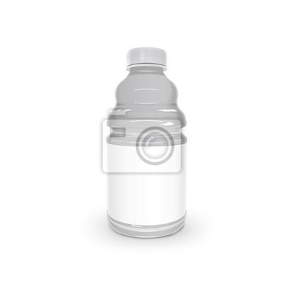 Adesivo bottiglia di plastica squisito