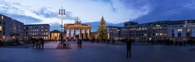 Adesivo Brandenburger Tor panorama