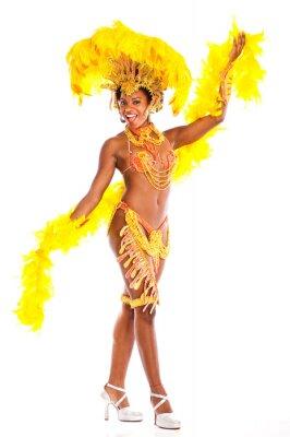Adesivo Brazilian dancer Samba