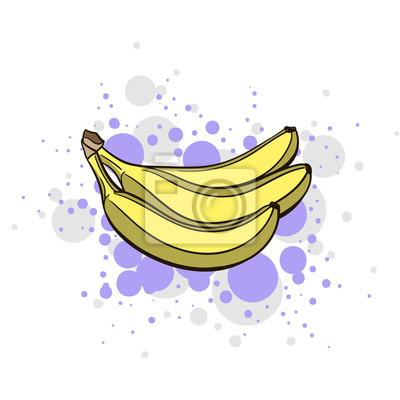 Adesivo Brillante Juicy Banana